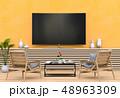 TV テレビ 空間のイラスト 48963309