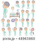 男性 患者 病気のイラスト 48963860
