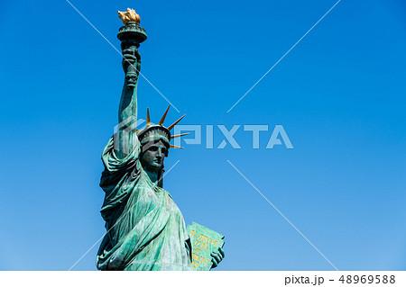 自由の女神像 お台場 48969588