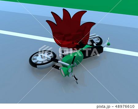 CG 3D イラスト デザイン 立体 車 交通 安全 事故 トラブル 火災 道路 保険 事例 教本 48976610