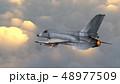 ジェット機 48977509