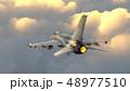 ジェット機 48977510