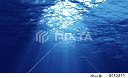 3D rendering of underwater light 48980829
