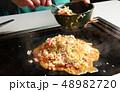 料理 キャベツ 調理の写真 48982720