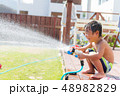 男の子 子供 水着の写真 48982829
