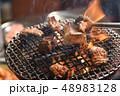 ホルモン焼き 網焼き 焼肉の写真 48983128