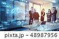 ビジネス マーケティング データの写真 48987956