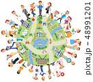 地域の人々とコミュニケーション 48991201