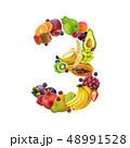 くだもの フルーツ 実の写真 48991528