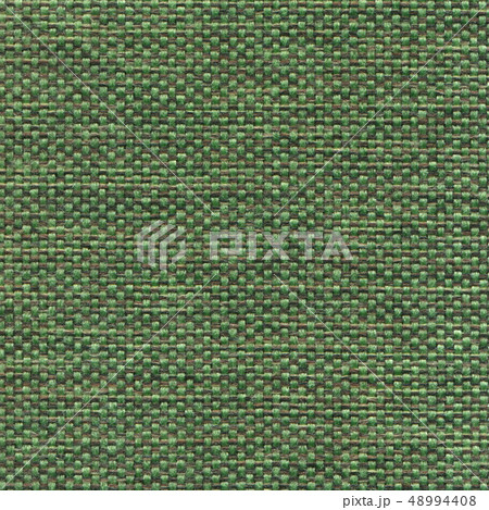 Green textile textured background. 48994408