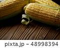 料理 トウモロコシ コーンの写真 48998394