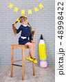 Cute school girl posing in studio shoot in school 48998422