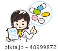薬剤師 処方薬 医療のイラスト 48999872