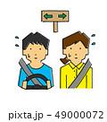 道に迷う、ドライブ、迷う、彷徨う(タッチB) 49000072