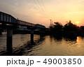 街の夕日 49003850