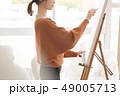 アーティスト 描く 画家の写真 49005713