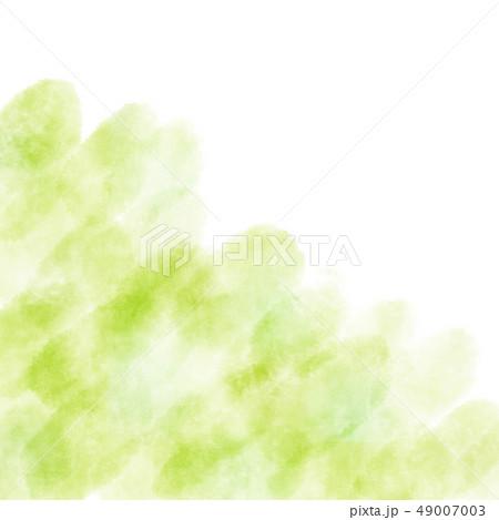 水彩 テクスチャ 背景 かすれ 新緑 49007003