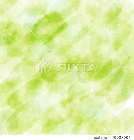水彩 テクスチャ 背景 かすれ 新緑 49007004