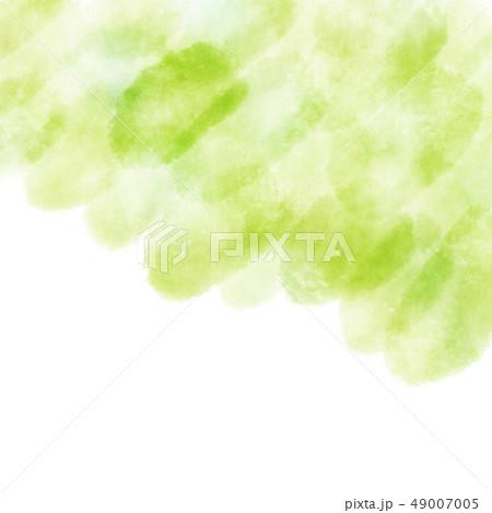 水彩 テクスチャ 背景 かすれ 新緑 49007005