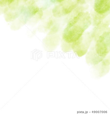 水彩 テクスチャ 背景 かすれ 新緑 49007006