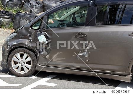 車 事故 傷 へこみ 49007567