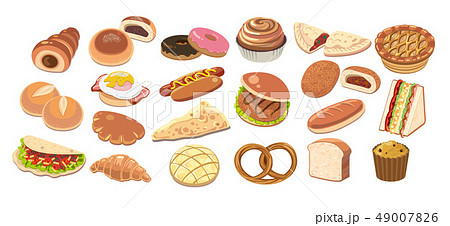 いろいろなパン 49007826