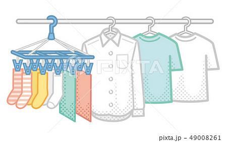 洗濯物のイラスト素材 [49008261] - PIXTA