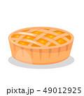 ベーカリー デザート お菓子のイラスト 49012925
