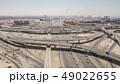 Aerial view of road junction in Dubai 49022655