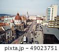 Aerial shot of Targu Mures old city 49023751