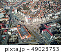 Aerial shot of Targu Mures old city at daylight 49023753