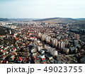 Aerial shot of Targu Mures old city at daylight 49023755