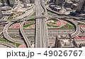 Aerial view of road junction in Dubai 49026767