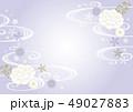 静かな和柄紫 49027883