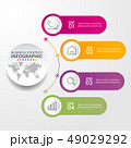 インフォグラフィック ベクタ ベクターのイラスト 49029292