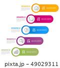 インフォグラフィック ベクタ ベクターのイラスト 49029311