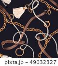 チェーン 鎖 鎖状のイラスト 49032327