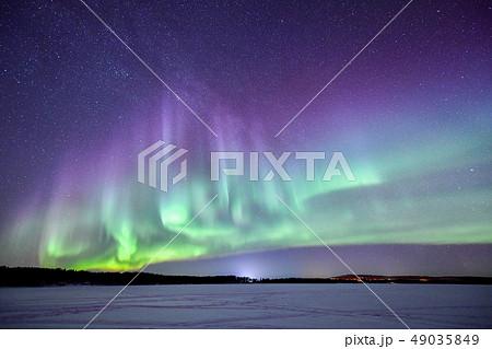 フィンランドのオーロラ 49035849