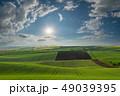 野原 運動場 畑の写真 49039395