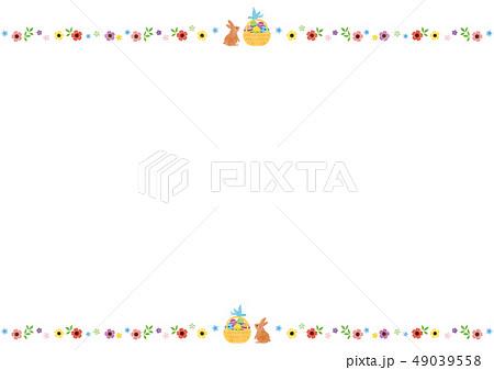 フレーム素材-イースター 49039558