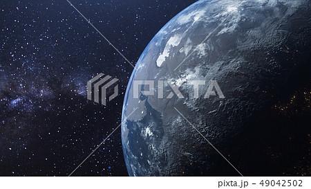 地球 惑星 天体 天の川 神秘 幻想 天文 銀河 49042502