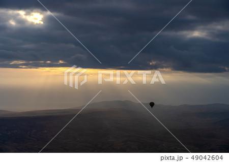 View of Cappadocia skyline in Turkey 49042604