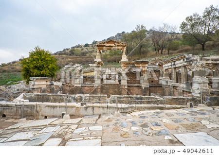 Ephesus the ancient Greek city in Selcuk, Izmir 49042611