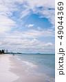 ビーチ 浜辺 ブルーの写真 49044369
