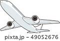 飛行機 ジェット機 旅客機のイラスト 49052676