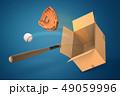 立体 3D 3Dのイラスト 49059996