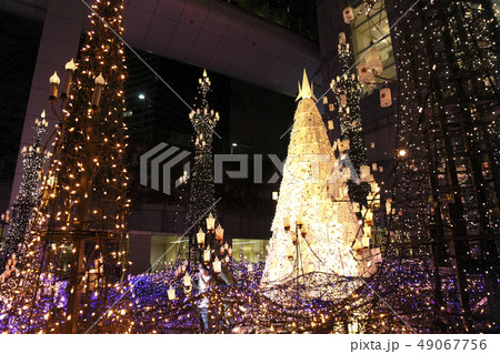 クリスマス イルミネーション カレッタ汐留 49067756