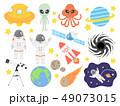 宇宙のイラストセット 49073015