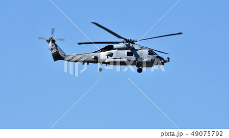 アメリカ海軍のMH-60哨戒ヘリコプター 49075792