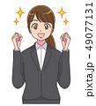 スーツ 女性 就活 アニメタッチ 49077131